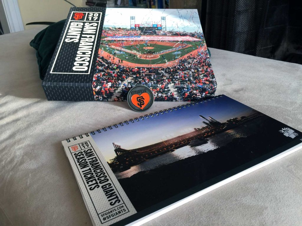 Giants tickets 2017