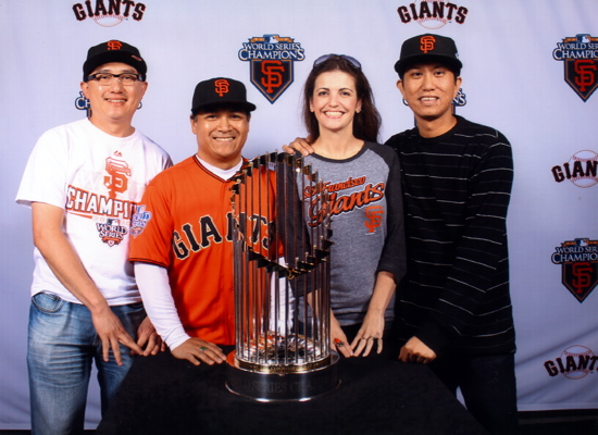 San Francisco Giants World Series Trophy
