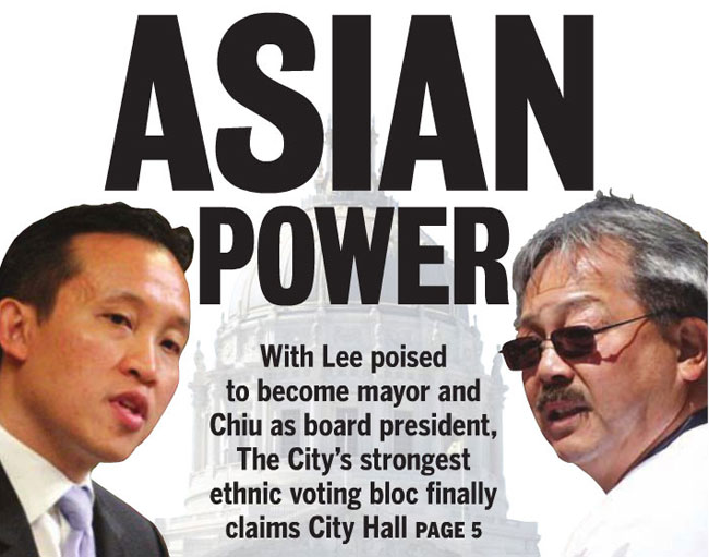 David Chiu, Ed Lee Examiner cover